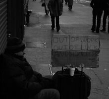 Out of Work,Out of Luck by Charles Adams
