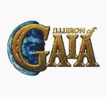 Illusion of Gaia (SNES) Title Screen Kids Clothes