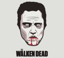 "Christopher Walken - ""The Walken Dead"" Official T-Shirt by FacesOfAwesome"