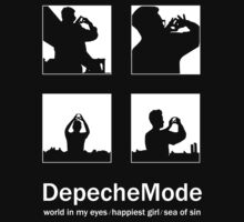 Depeche Mode : World In My Eyes / Happiest Girl / Sea of Sin - 5 - White Kids Clothes