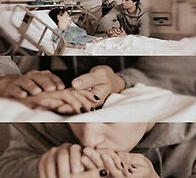 The Fault In Our Stars Hazel and Gus Hospital  by jamiehamay