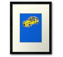citroen 2 cv  Framed Print