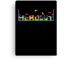 Tetris HeadOut Canvas Print