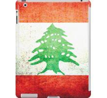Lebanon - Vintage iPad Case/Skin