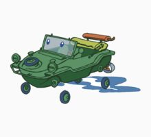 little green schwimmwagen by johnkratovil