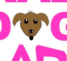 crazy dog lady, dogs, funny Sticker
