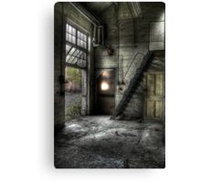 Loft Stairs Canvas Print
