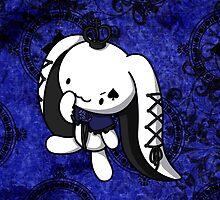 Princess of Spades White Rabbit by fushiginaringo