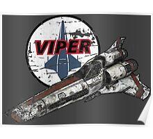 Battlestar Galactica - Viper Poster