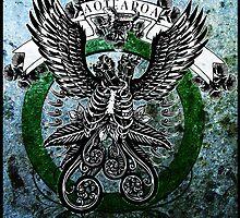 Aotearoa crest by Evan Lole