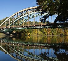Brattleboro bridge by Anne Scantlebury