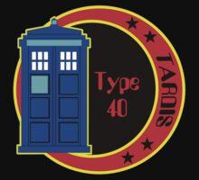 TARDIS logo by herogear