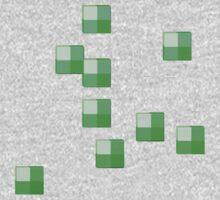 MineCraft Emerald Ore  by RagingPixie