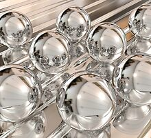 Chrome Spheres by Vandarque