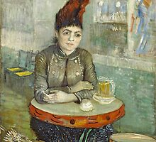 Vincent van Gogh - In the café - Agostina Segatori in Le Tambourin - c.1888 by forthwith