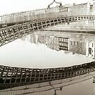 Ha'penny bridge Dublin by ragman