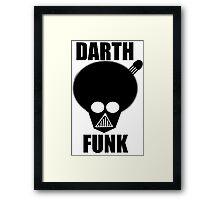 Darth Funk Framed Print