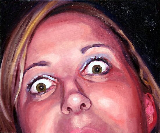 Crazy eyes Flanagan. by Janne Kearney