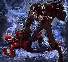 Spidey Vs. Venom by Mike Dio
