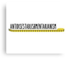 Antidisestablishmentarianism Longest Word Canvas Print