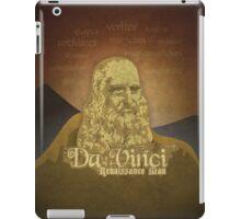 Leonardo DaVinci Renaissance Man iPad Case/Skin