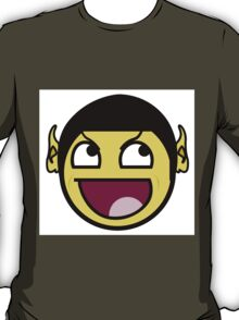 Spock Smiley Face T-Shirt