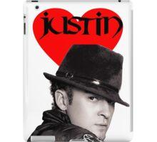Justin Timberlake T Shirt iPad Case/Skin