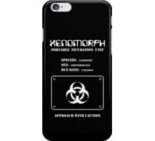Xenomorph Portable Incubation Unit iPhone Case/Skin