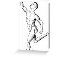 Anatomy of a Dancer Greeting Card