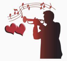 saxophone player  by JudyBJ