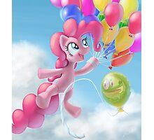 Pinkie Sky Photographic Print