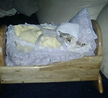 sleeping baby by chrislaf1972
