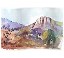 Magaliesberg Mountains 1 Poster