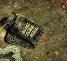 Ancient Phone by Richard Shepherd