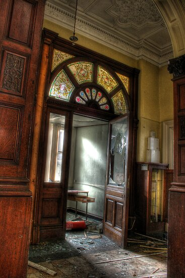 Stained glass, stained walls by Richard Shepherd