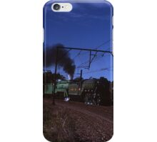 """Flying Scotsman"" & 3801 @ Springwood, Australia 1989 iPhone Case/Skin"