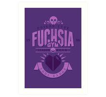 Fuchsia Gym Art Print