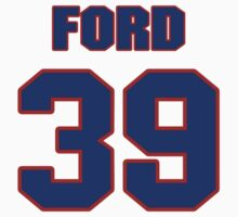 National football player Trevor Ford jersey 39 by imsport