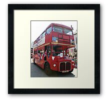 The lesser spotted routemaster London bus Framed Print