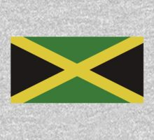 Jamaican Flag - Jamaica T-Shirt by deanworld
