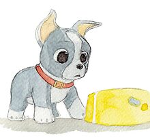 Winston Puppy Feast by HollieBallard