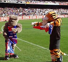Mascots For Richmond Tigers & Western Bulldogs by lettie1957