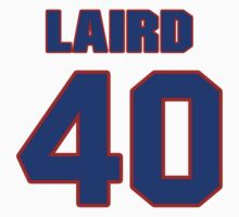 National football player Bruce Laird jersey 40 by imsport