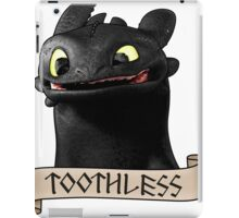 Toothless Smile iPad Case/Skin