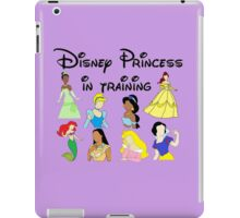 Disney Princess in Training iPad Case/Skin