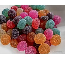Colored Candy Photographic Print