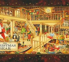 The Christmas Bear - Santa's Storeroom by StrangeStore