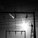 Sun, sky, and electricity by Sarah  Lombart