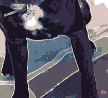 SK8 Staffy Dog Sticker
