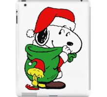 Christmas Snoopy iPad Case/Skin
